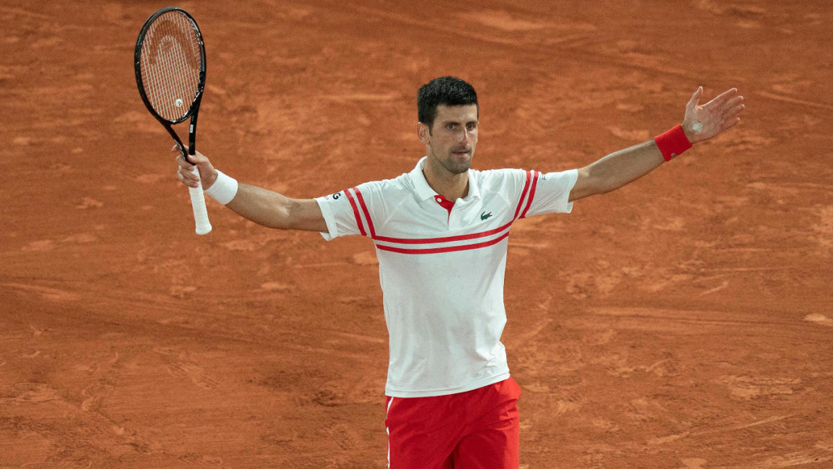 LOOK: Novak Djokovic hands young fan winning racket from the French Open, making for an adorable moment