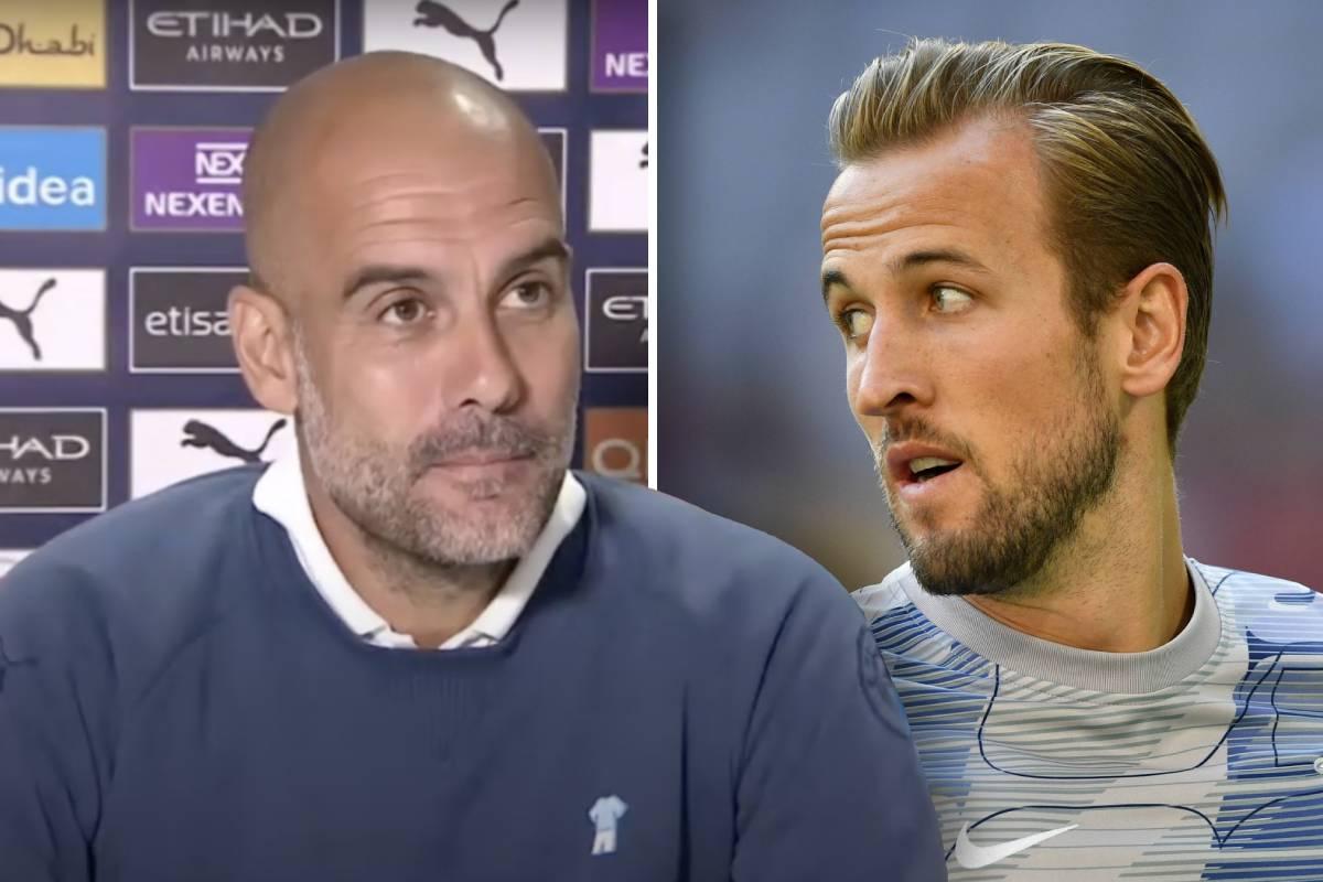 Pep Guardiola tight-lipped over Harry Kane transfer