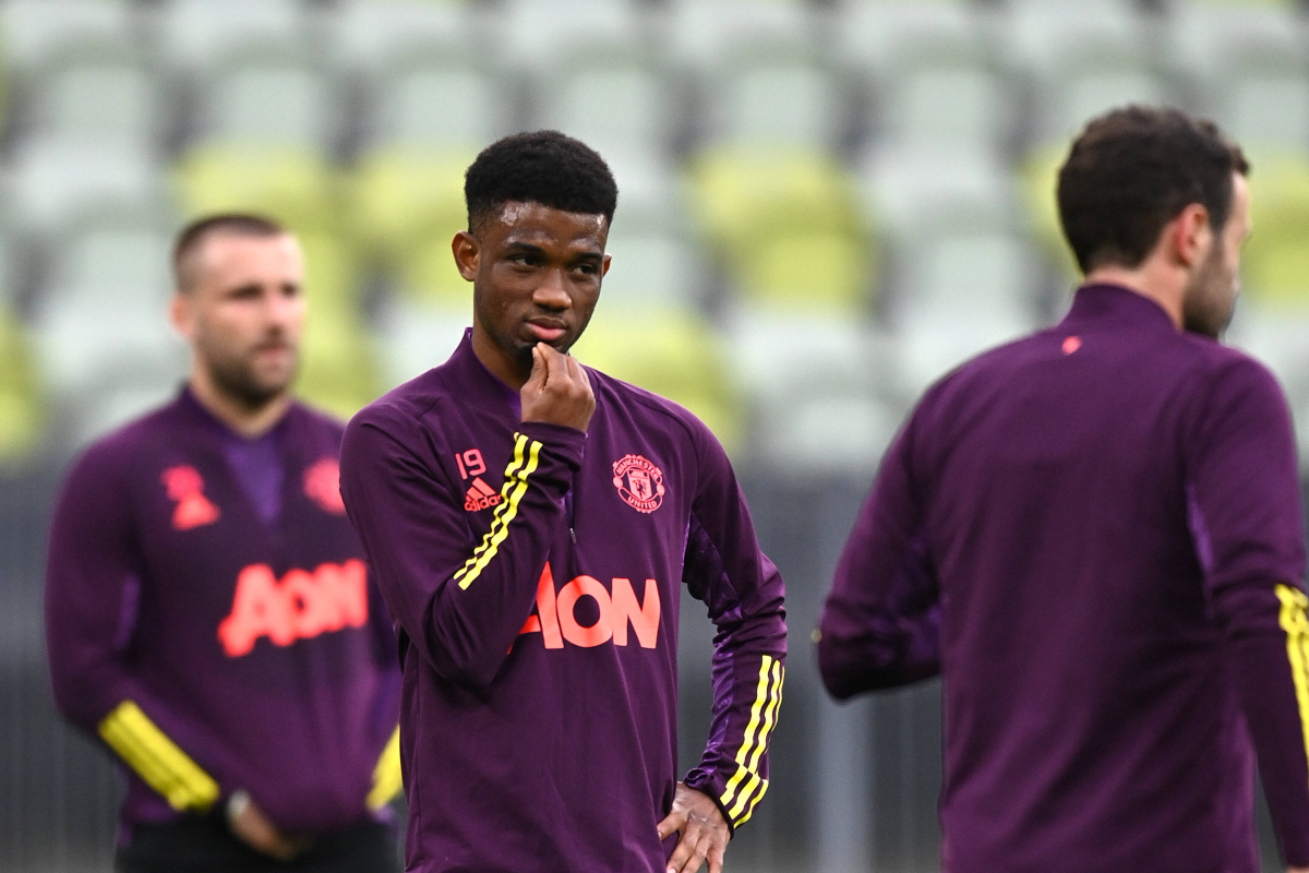 Man United start to consider loan options for talent Amad Diallo