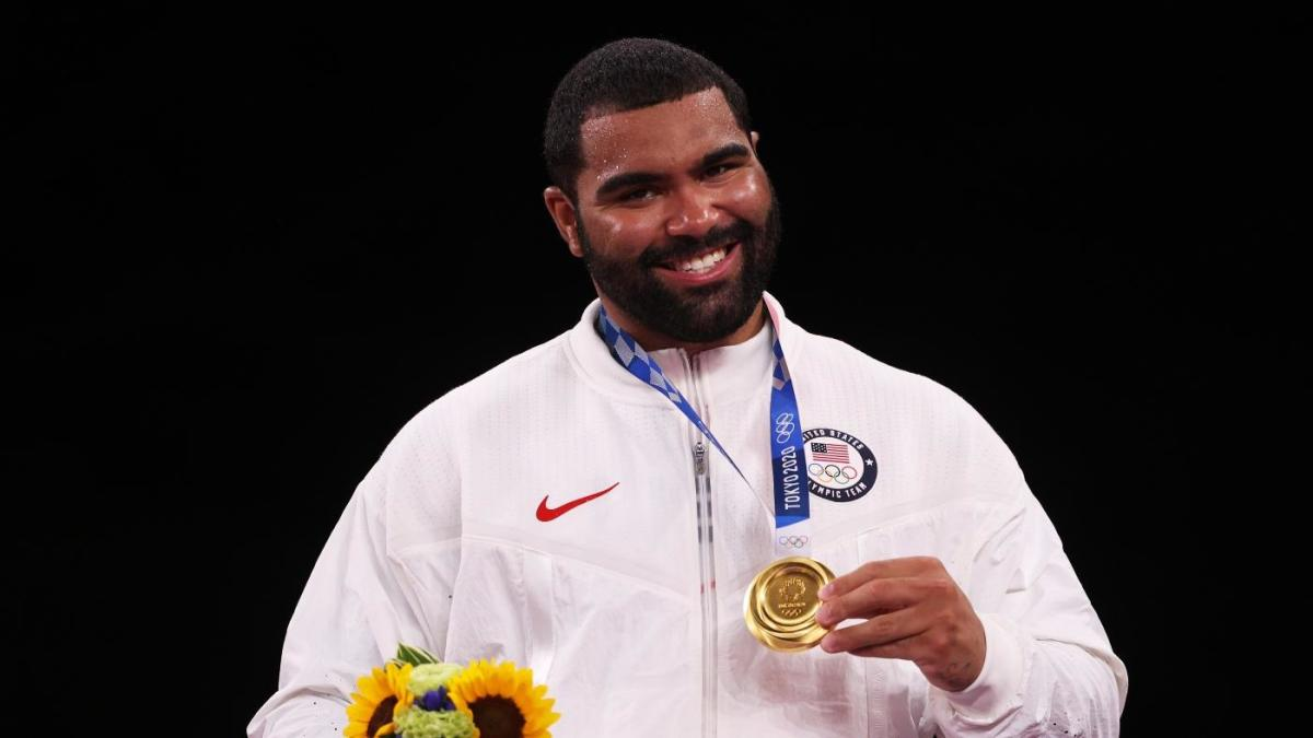 Olympic wrestler Gable Steveson says Bills reached out to him about potentially playing in NFL