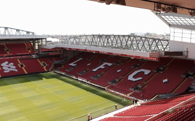 Liverpool's Anfield is fan's favourite away ground