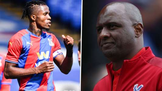 Vieira: Crystal Palace fortunate to have Zaha in the squad