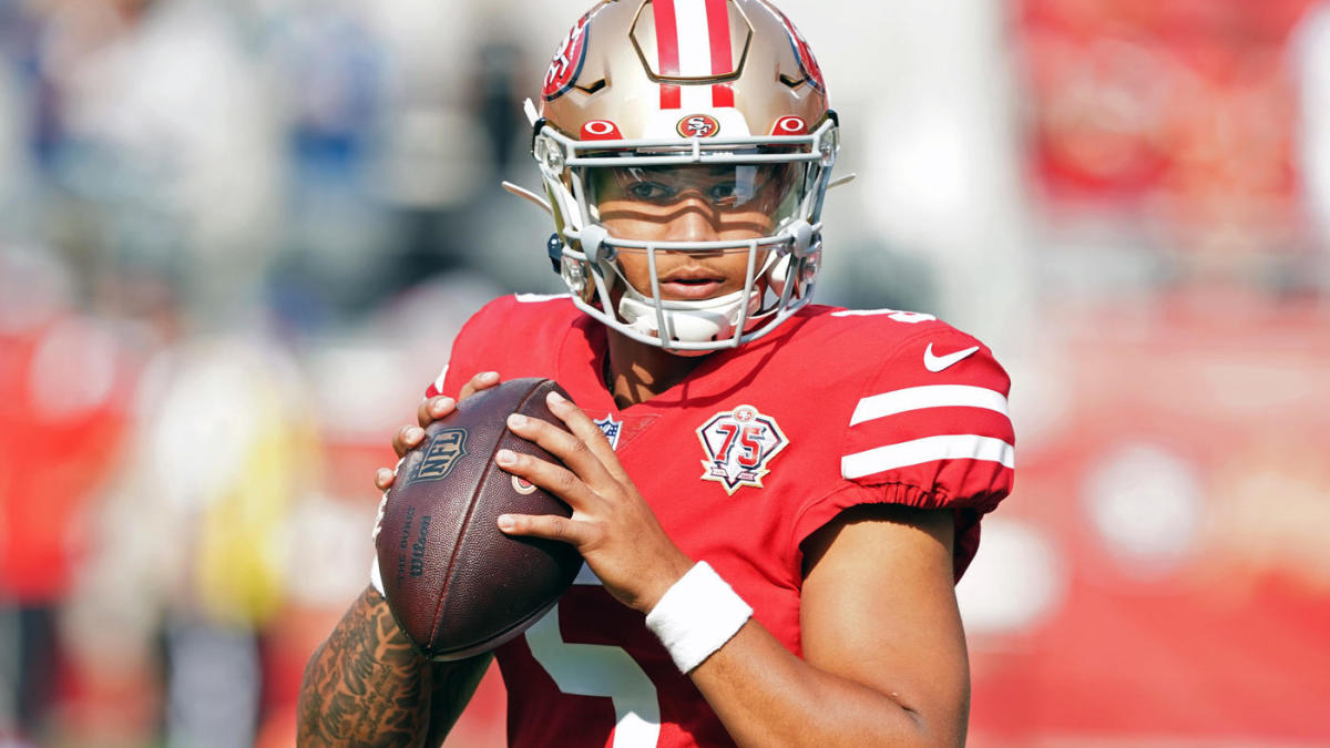 Trey Lance throws 80-yard touchdown pass vs. Chiefs in his first preseason action for 49ers