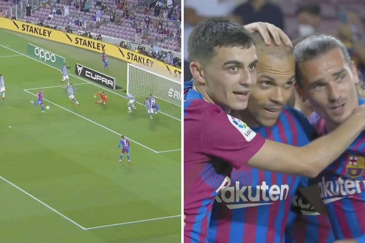 Braithwaite nets second of the night for Barcelona