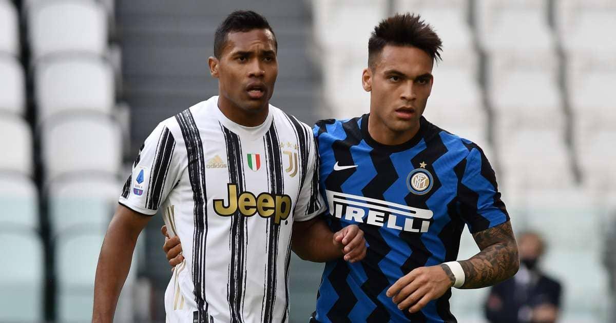 Alex Sandro, Lautaro Martinez, Juventus v Inter Milan TEAMtalk