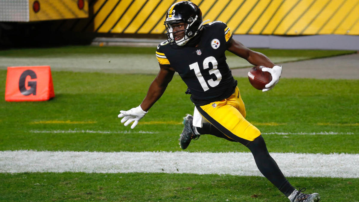 James Washington says he loves playing in Pittsburgh despite reported trade request from Steelers