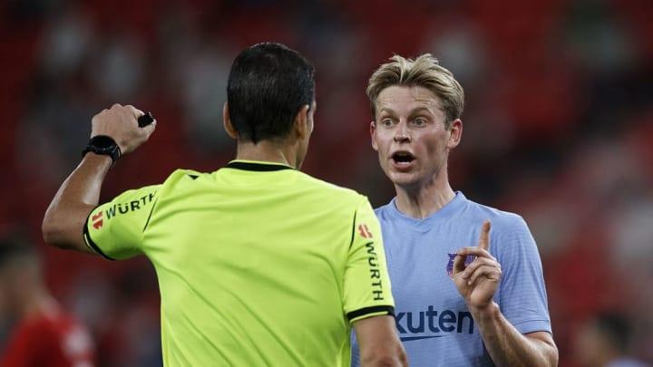 Frenkie de Jong was crucial for Barcelona on Saturday