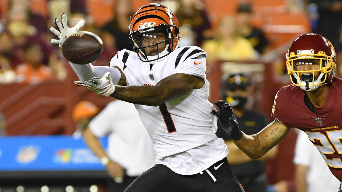 Bengals' Ja'Marr Chase struggles in preseason loss, Zac Taylor will 'keep looking for improvement'