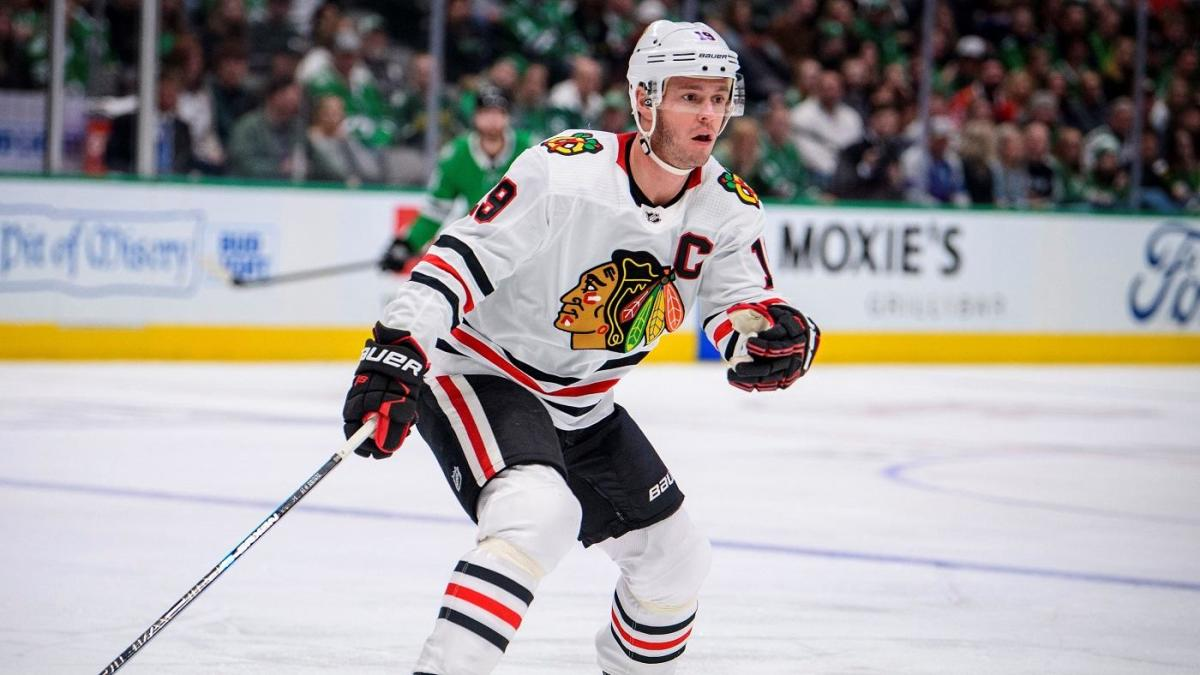 Jonathan Toews sheds light on illness that forced him to miss entire 2021 NHL season