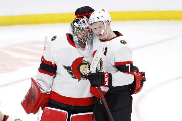 NHL Rumors and Notes: Winter Olympics, and the Ottawa Senators