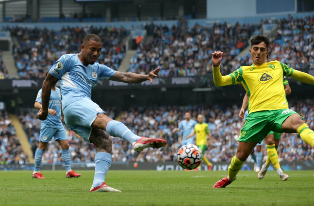 Pep Guardiola heaps praise on Gabriel Jesus after Norwich City rout