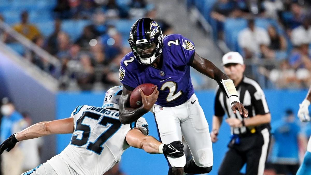 Ravens win 19th straight preseason game with victory over Panthers, match Packers for all-time record