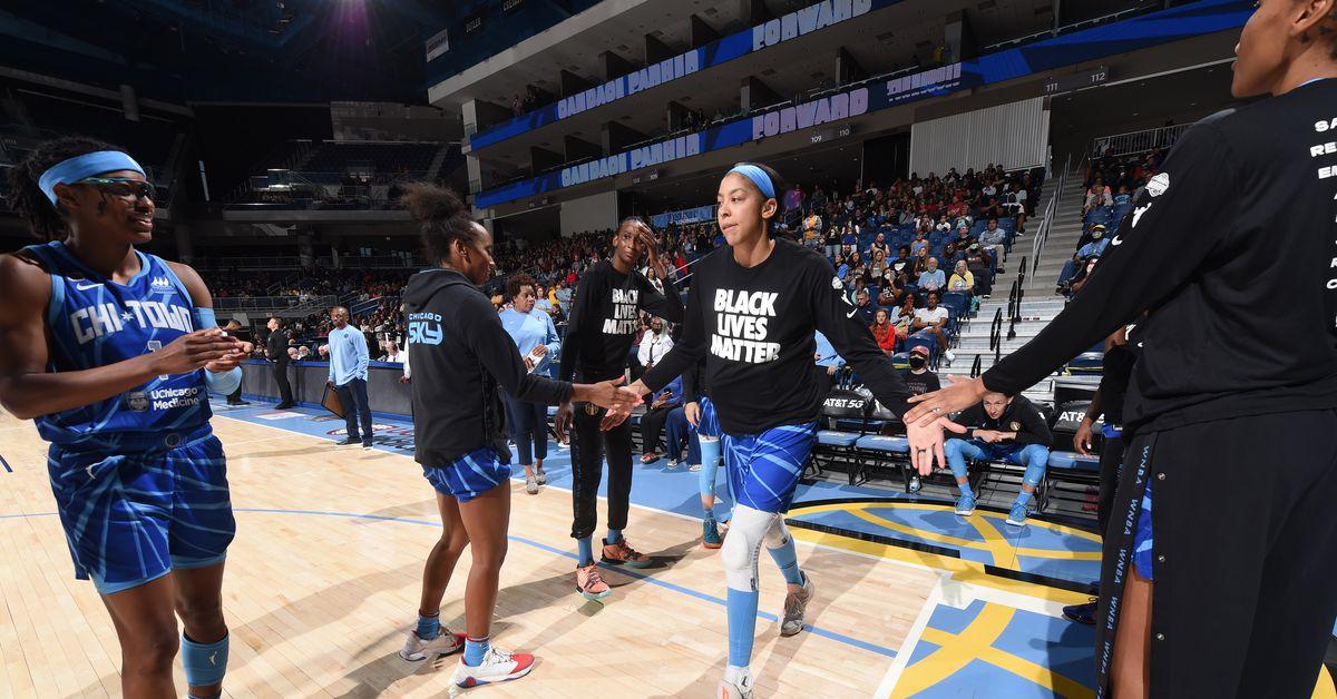 Seattle Storm vs. Candace Parker, Chicago Sky highlights WNBA's return