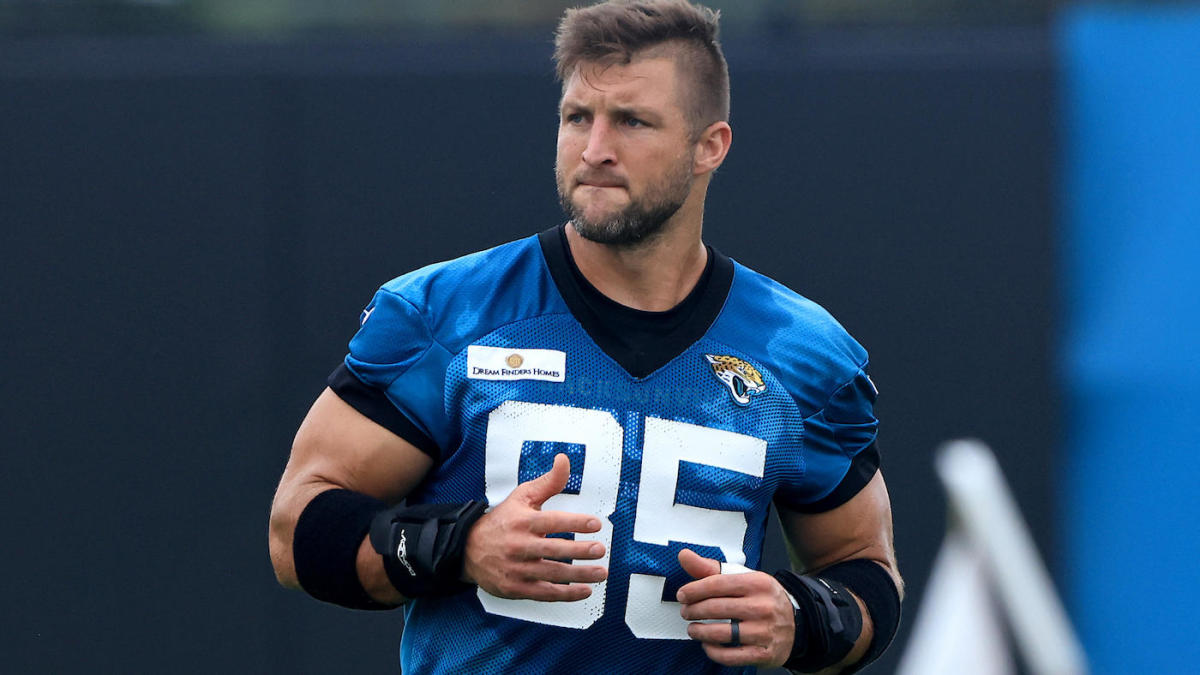 Tim Tebow released by Jaguars, ending tight end experiment: 'I'm grateful for the chance'