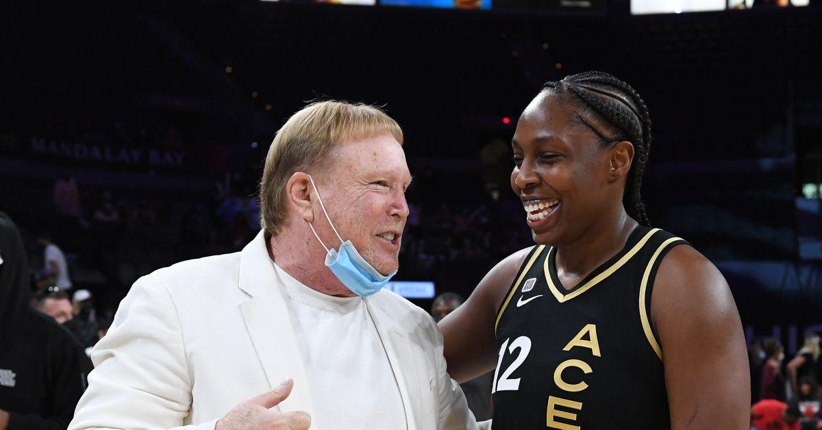 WNBA: Gray, Las Vegas Aces come back to defeat Washington Mystics