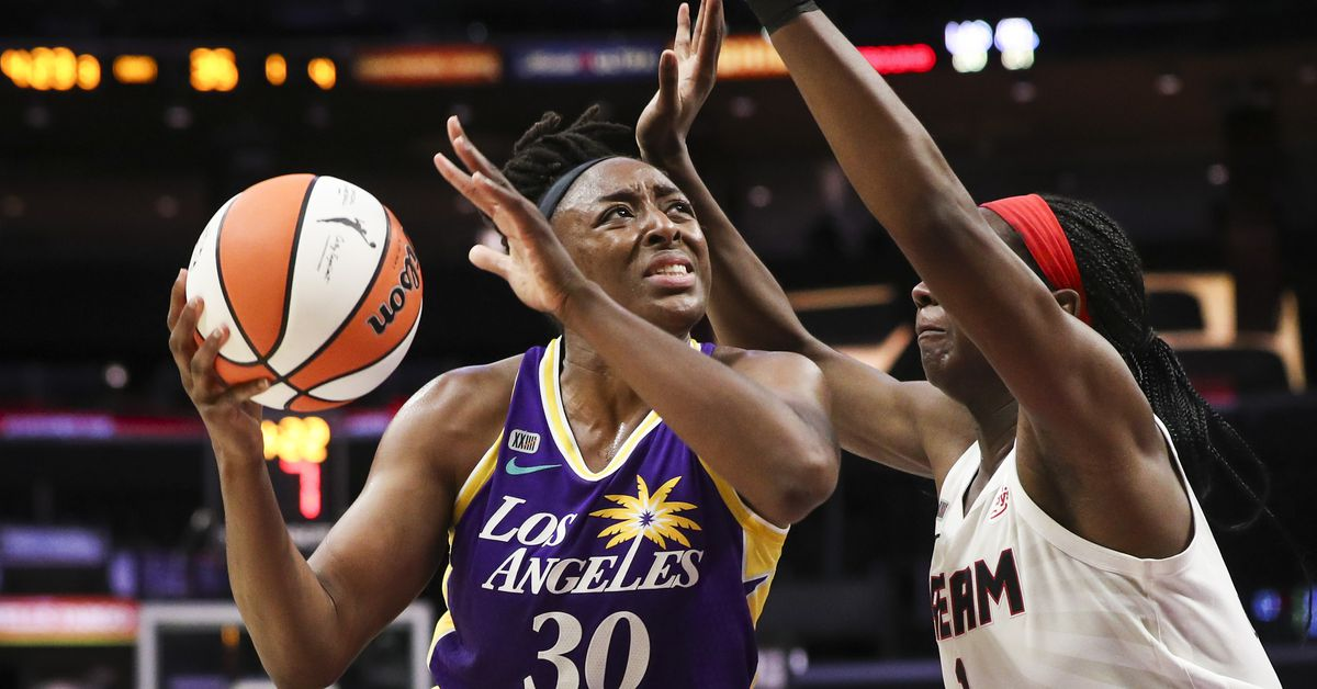 WNBA: Nneka Ogwumike saves the day for Los Angeles Sparks vs, Dream