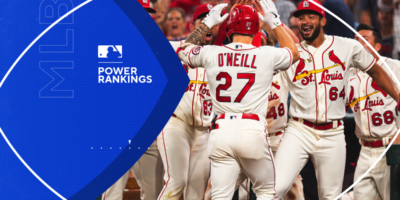 MLB Power Rankings: Cardinals take control of playoff destiny; Yankees, Padres continue September slides