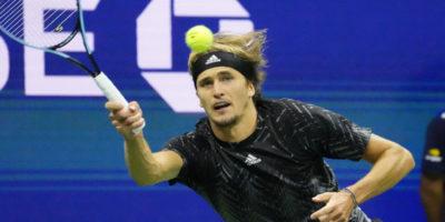 WATCH: Alexander Zverev overcomes Novak Djokovic in US Open semifinal-record 53-shot rally