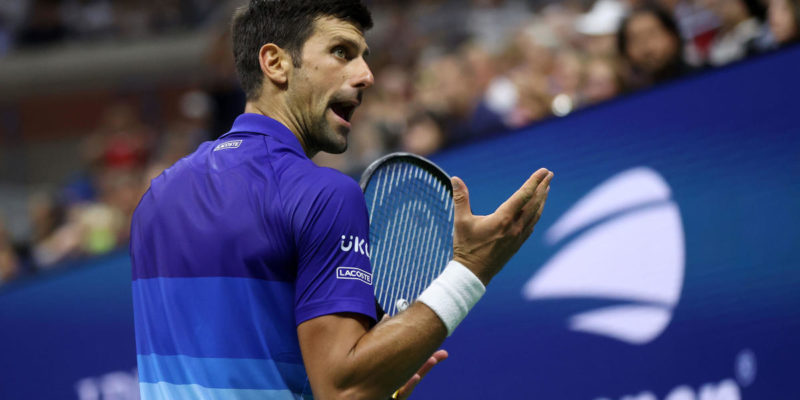 US Open 2021: Novak Djokovic defeats Jenson Brooksby despite early lack of support from crowd