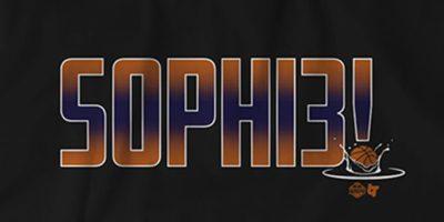 WNBA: Buy Sophie Cunningham Phoenix Mercury shirt from breakingT!