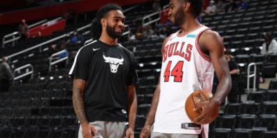Chicago Bulls Exercise Options on White, Williams