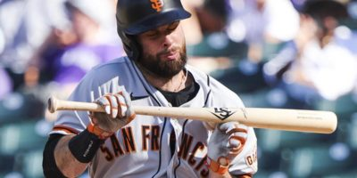 Giants' Brandon Belt has fractured left thumb; timetable unknown
