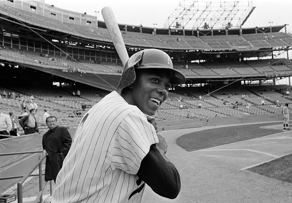 Tony Oliva was an eight-time All-Star and three-time American League batting champion with the Minnesota Twins.
