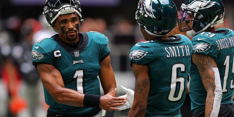 NFL Week 3 picks, odds: Eagles upset Cowboys, Bucs topple Rams, Dolphins surprise Raiders
