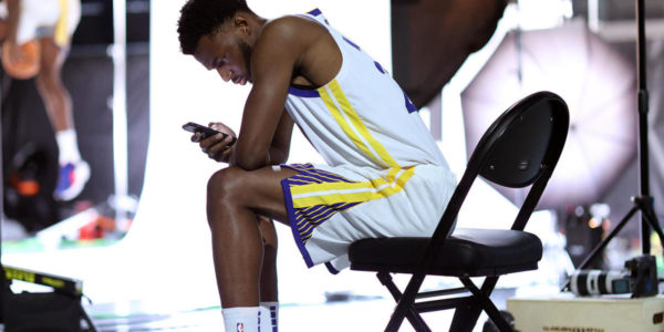 Stephen Curry, Warriors teammates react to Andrew Wiggins' vaccination decision looming over start of season
