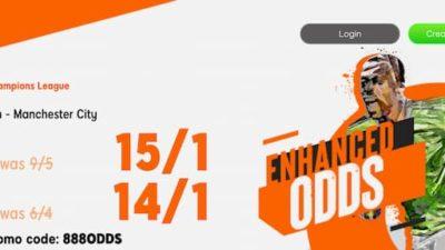 UCL: PSG vs Man City betting tips - Enhanced Odds at 888sport