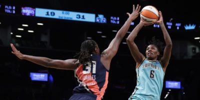 WNBA: New York Liberty best Mystics, extend battle for eighth seed