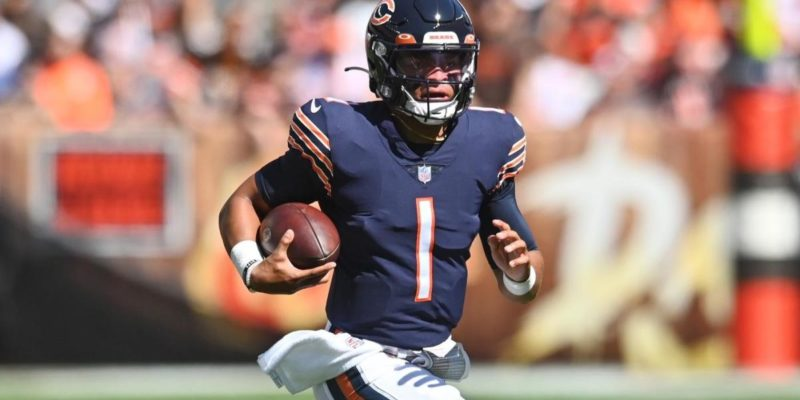 Bears' QB Justin Fields to start in Chicago's Week 4 matchup vs. the Lions