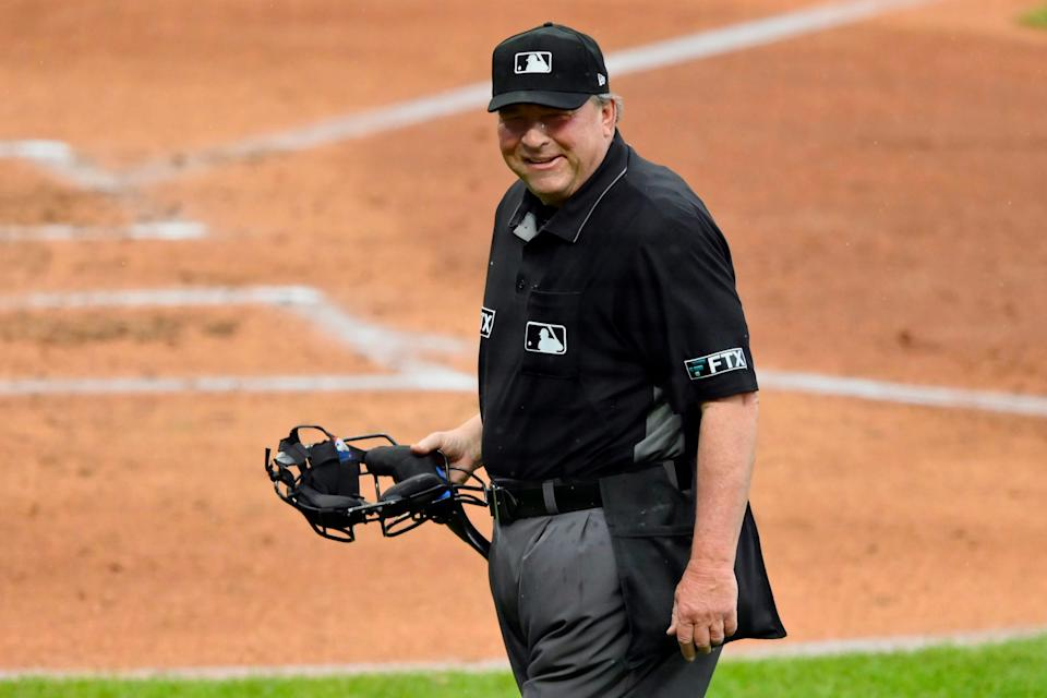 Gerry Davis during an August game in Cleveland.