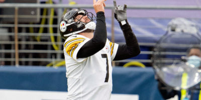 Steelers' Ben Roethlisberger becomes eighth quarterback with 400 career touchdown passes