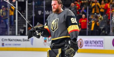 Robin Lehner, Golden Knights goaltender, to meet with NHL officials over medical malpractice accusations
