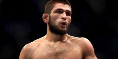 Which football team does UFC legend Khabib Nurmagomedov support?