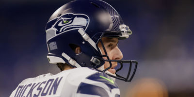 LOOK: Michael Dickson saves Seahawks with running punt after blocked kick in crazy sequence of events