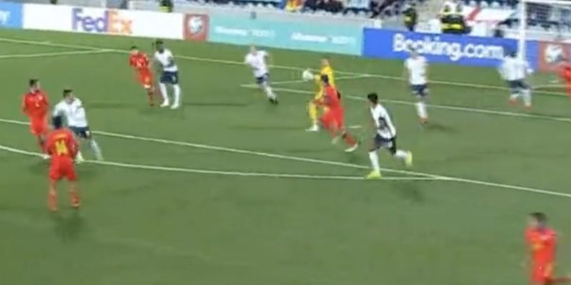 (Video) Superb distribution from Johnstone sets Grealish up for England's fifth vs. Andorra
