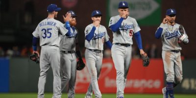 Dodgers remind Giants how powerful they can be in October