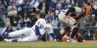 Dodgers vs. Giants in NLDS Game 4