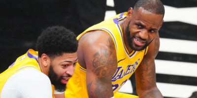 Lakers' LeBron James, Anthony Davis talk Netflix series 'Squid Game' after preseason loss to Warriors
