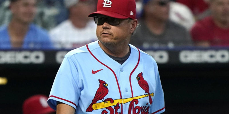 St. Louis Cardinals fire manager Mike Shildt over 'philosophical difference'