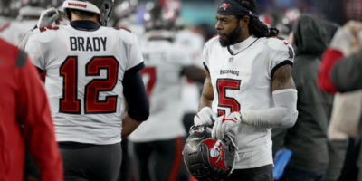 Buccaneers' Richard Sherman 'disappointed' after injuring hamstring vs. Eagles, vows to return better