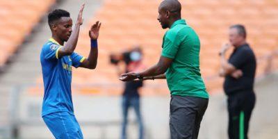Caf Champions League: Mamelodi Sundowns' Mokwena blames Bafana Bafana after AS Maniema Union draw