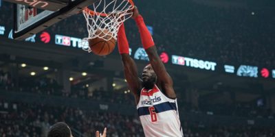 Wizards' Montrezl Harrell given technical foul after trash-talking Drake