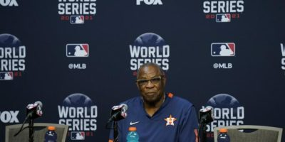 Astros don't want to talk about cheating or the 2017 World Series, just this one