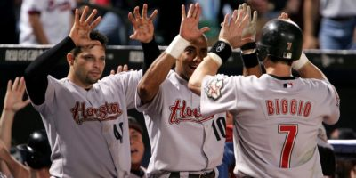 Astros have long playoff history against Braves