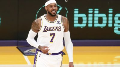 Carmelo Anthony Becomes 9th All-Time Leading Scorer in NBA History