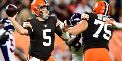 Case Keenum -- in for Baker Mayfield -- helps Browns end skid, stay in playoff race - Cleveland Browns Blog