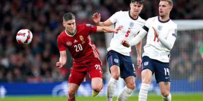 FIFA World Cup European qualifiers: England held by Hungary in match marred by clashes between fans